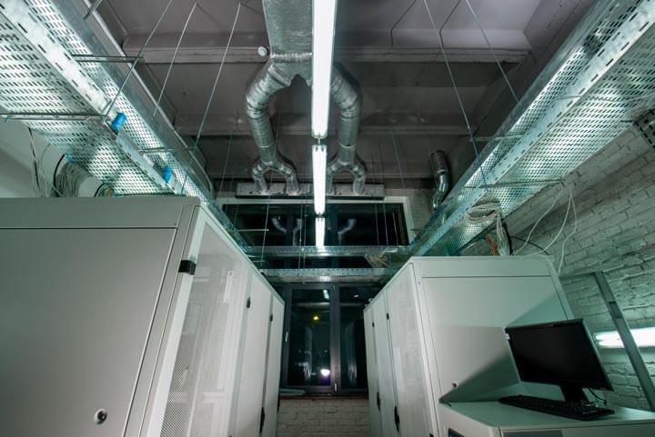 Infraestructura de climatización en data centers