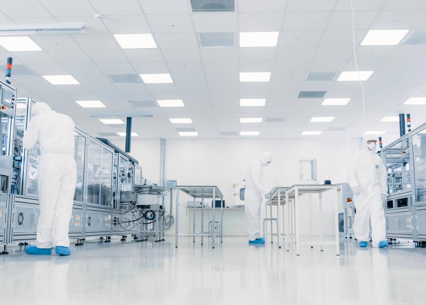 Control de humedad en laboratorios farmacéuticos