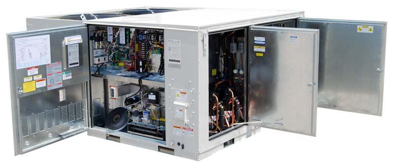 Equipo de aire acondicionado industrial AAON, serie RN
