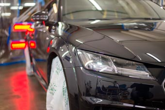 Control de humedad en la planta de Audi Puebla