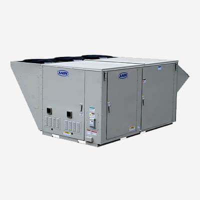 Equipos de aire acondicionado industrial AAON serie RN