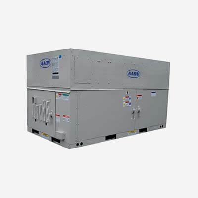 Equipos de aire acondicionado industrial AAON serie RQ