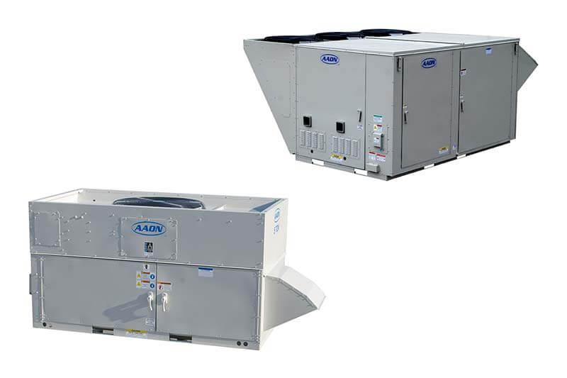 Equipos de aire acondicionado industrial AAON