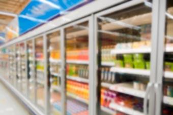 Control de humedad en área de vitrinas de Walmart